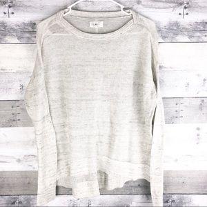 Lou & Grey / knit sweater shirt / size small